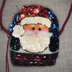 Handbags - Vintage Santa Crossbody Coin Purse
